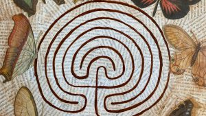 Collaged Labyrinth