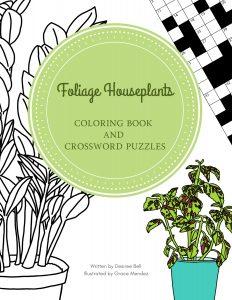 Foliage Houseplants Coloring Book